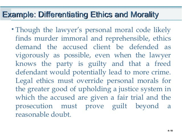 difference between ethics and business ethics pdf