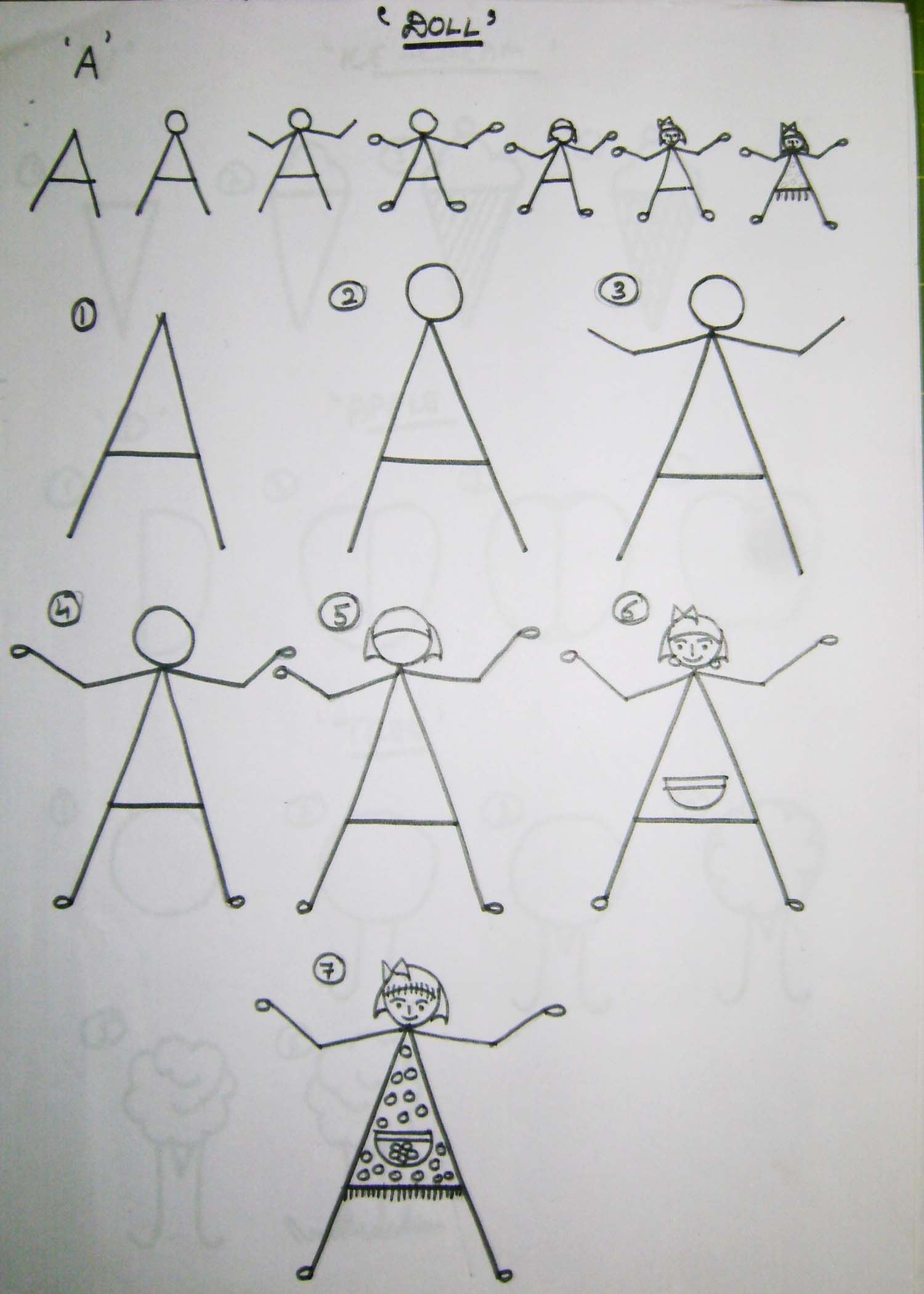 easy drawing for kids pdf