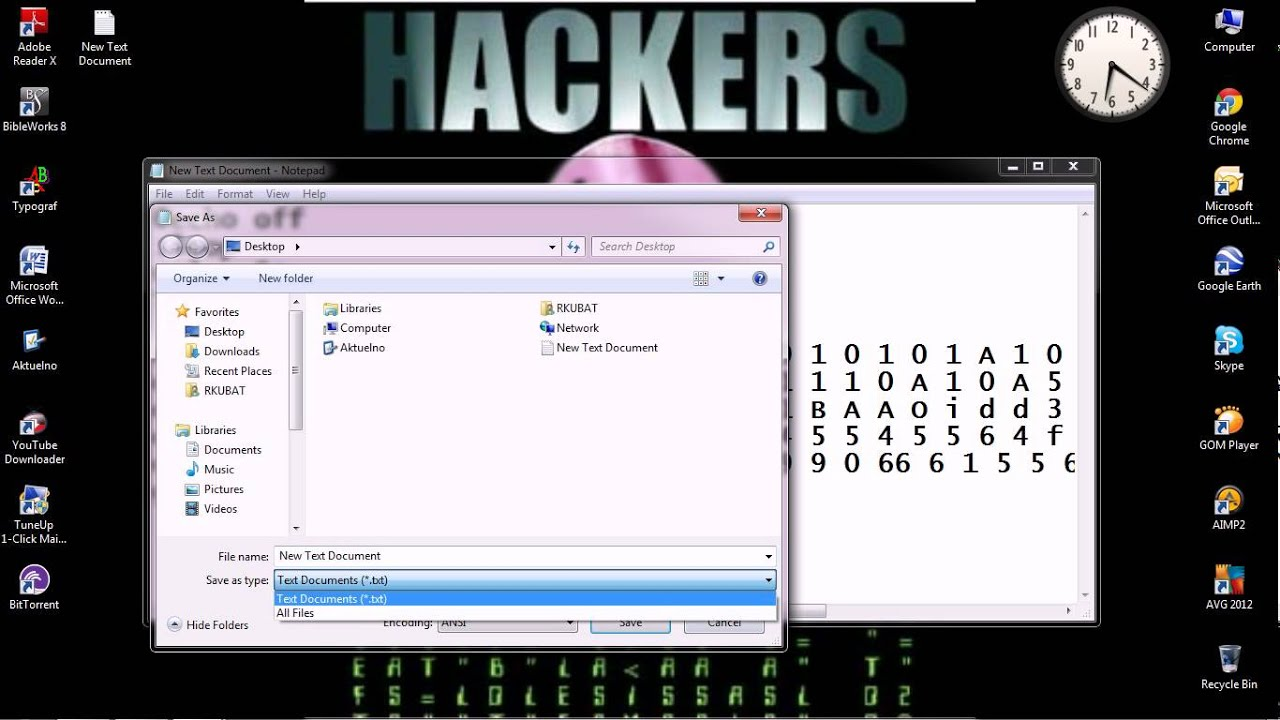 how to make virus in notepad pdf