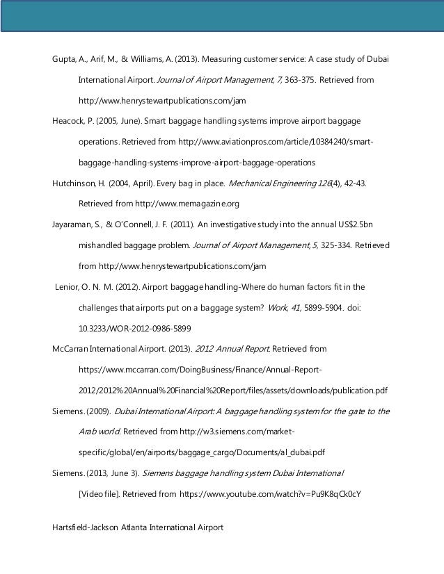 journal of airport management pdf